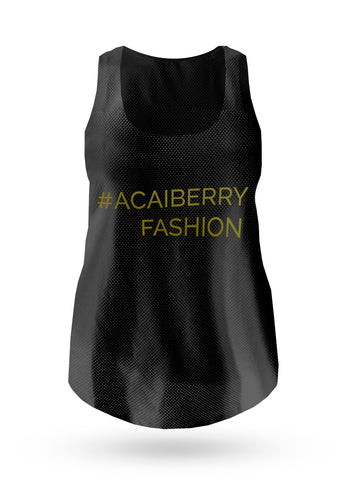 The Hashtag Vest - Black - AcaiBerryFashion