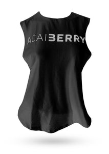 T-Shirt ACAI BERRY FASHION Logo screen - Black