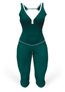 Jumpsuit - military green