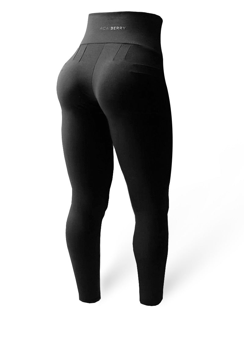 Painless Pants Fitness Fashion - New Black
