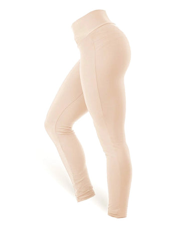 Brazilian Butt Push Up Pants Fitness - Nude - AcaiBerryFashion