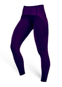 The Brazilian Butt Push Up Tummy Control - Dark Purple - AcaiBerryFashion
