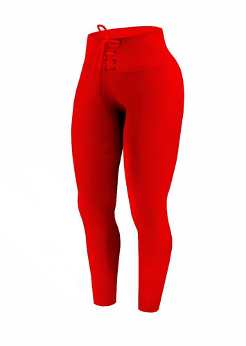 Brazilian Butt Push-Up Lacing - Red - AcaiBerryFashion