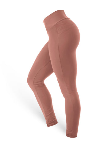 Brazilian Butt Push Up Pants Fitness - Rosa nude - AcaiBerryFashion