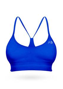 The Squat Sport Bra - Spectrum blue - AcaiBerryFashion
