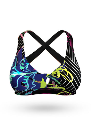 Push Up Sport Bra - Spring - AcaiBerryFashion
