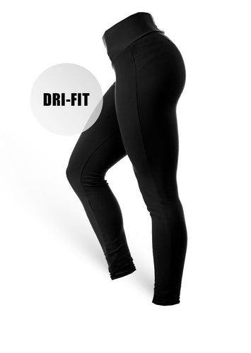 BrazilianButt Pants Fitness Wear - Dri-Fit Black - AcaiBerryFashion