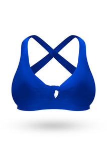 The Brazilian Push Up Bra- Blueberry - AcaiBerryFashion