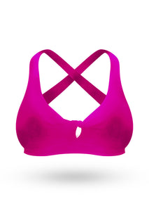 The Brazilian Push Up Bra - Rosa Pop - AcaiBerryFashion