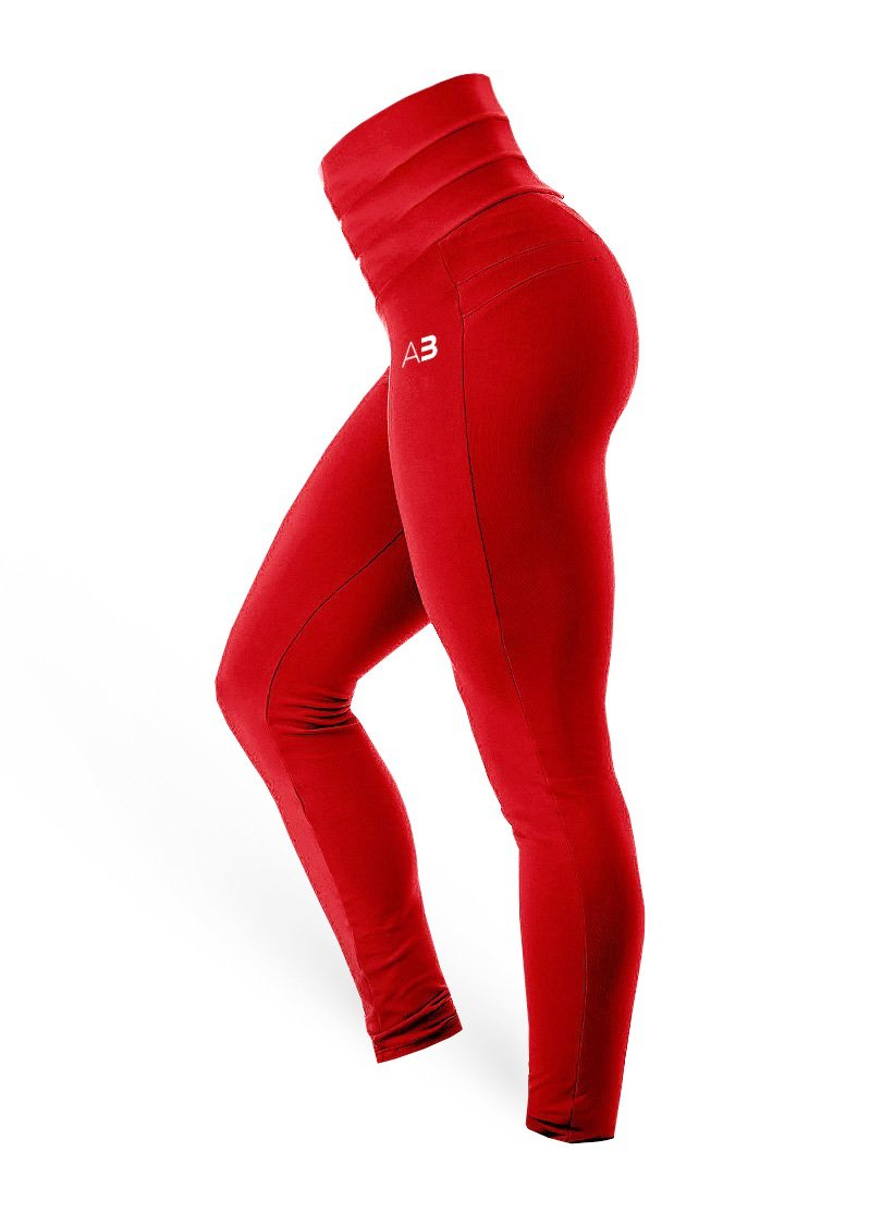 BrazilianButt Push-Up - Red (The Squat Collection) - AcaiBerryFashion