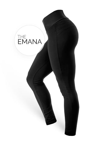 The Brazilian Butt Push Up EMANA - Black - AcaiBerryFashion