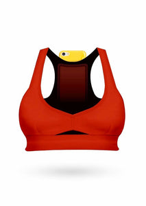 Push Up Pocket Bra - Red - AcaiBerryFashion
