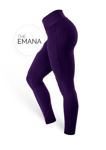 The Brazilian Butt Push Up EMANA - Dark Purple - AcaiBerryFashion