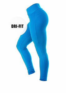 Brazilian Butt Push Up Pants Dri-Fit - Ocean Blue - AcaiBerryFashion