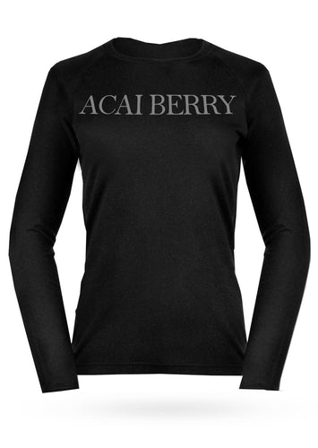 ACAI BERRY LONG SLEEVE SHIRT - AcaiBerryFashion