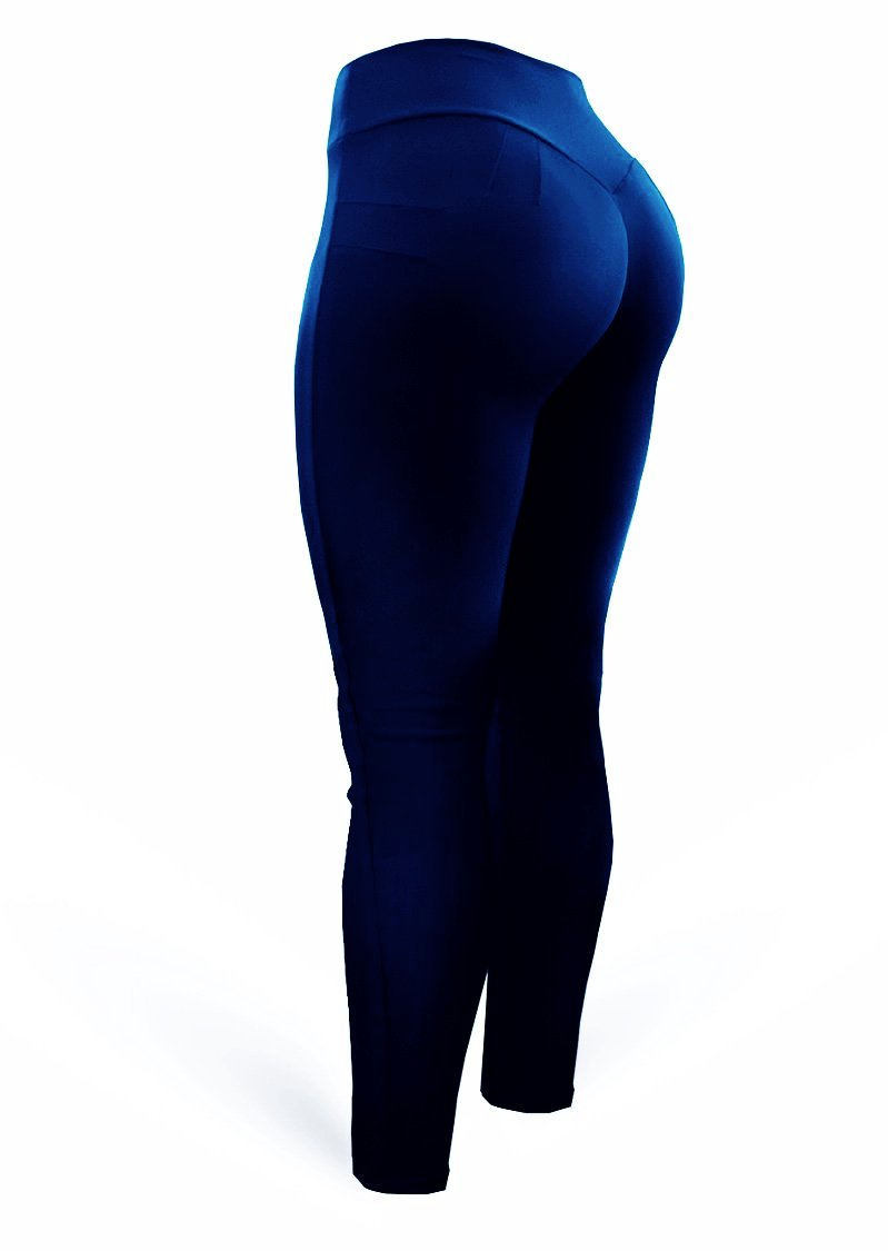Brazilian Butt Push Up Pants - Mix Navy - AcaiBerryFashion
