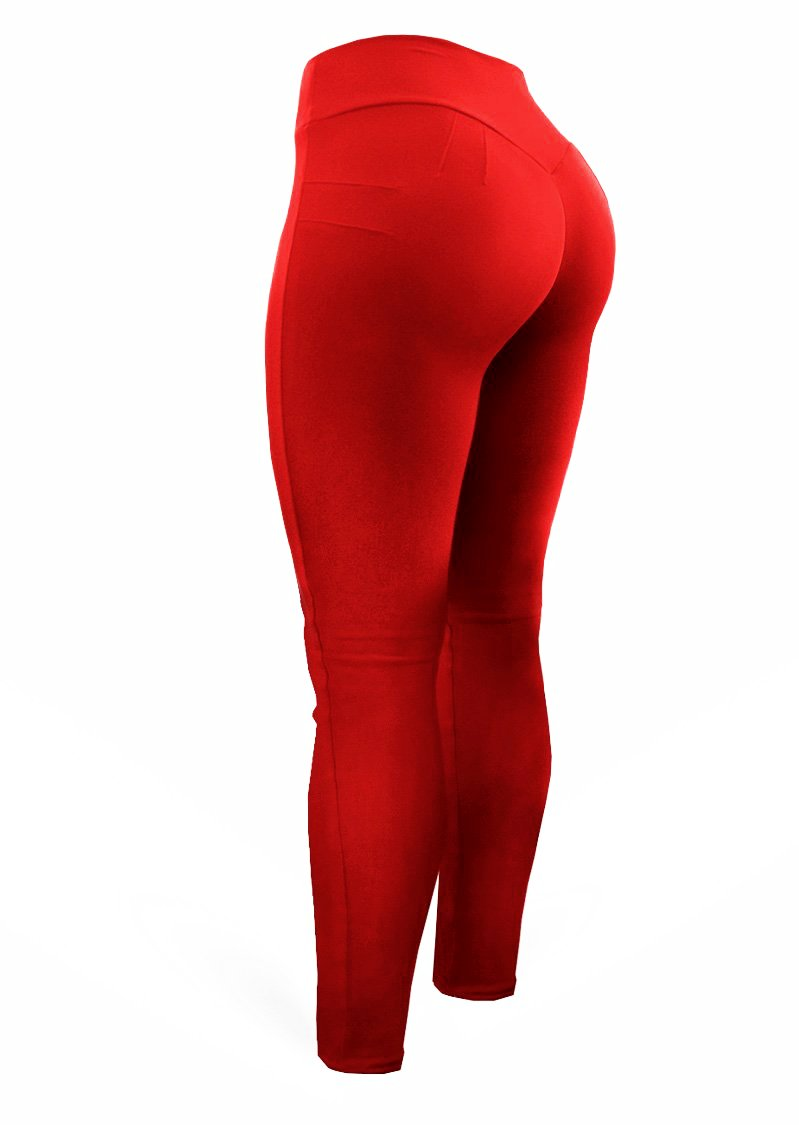 Brazilian Butt Push Up Pants - Mix Red - AcaiBerryFashion