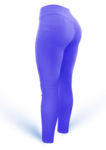 Push Up Pants Scrunch Mix Violet (Light Dri-fit) - AcaiBerryFashion