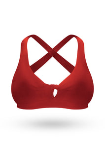 The Brazilian Push Up Bra- Red - AcaiBerryFashion