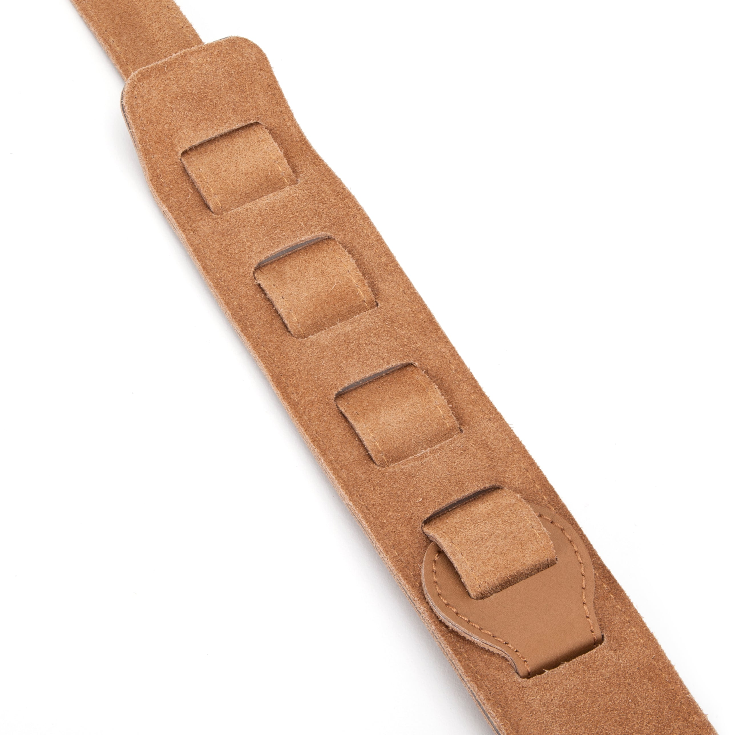 Dat Strap Light Brown Leather Guitar Strap