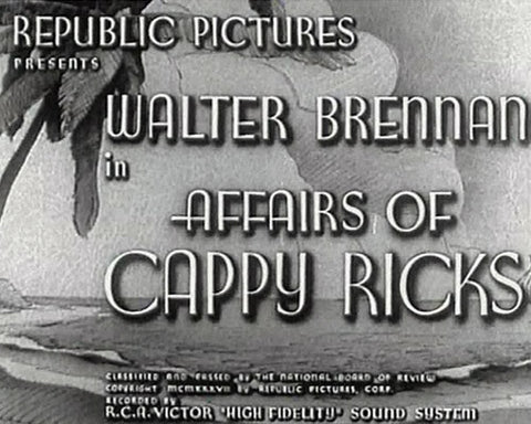 Image result for The Affairs of Cappy Ricks 1937