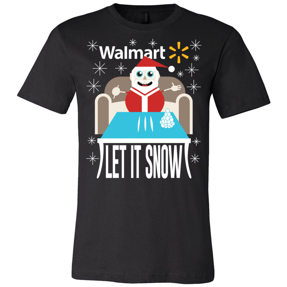 LET IT SNOW (BLACK OR BLUE)