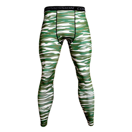 MMA/GRAPPLING SPATS GREEN TIGER CAMO