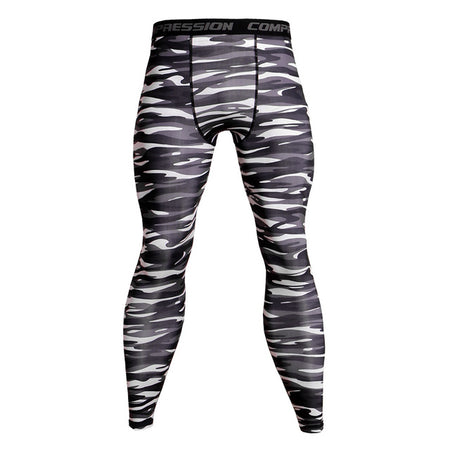 MMA/GRAPPLING SPATS WINTER TIGER CAMO