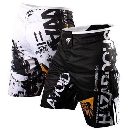 MMA/GRAPPLING FIGHT SHORTS HAZARDOUS MATERIAL