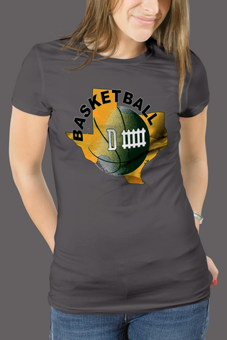Baylor Basketball Defense Women's T-Shirt Slim and Classic Fit - 47stories - 1