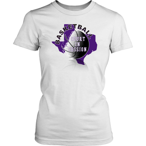 TCU Basketball Court In Session Junior T-Shirt - 47stories - 1