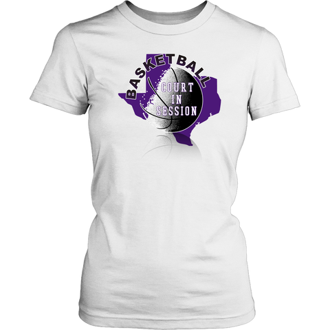 TCU Basketball Court In Session Women's T-Shirt Classic Fit - 47stories - 1