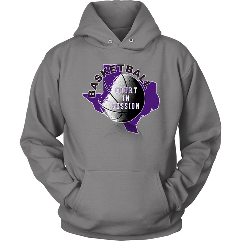 TCU Basketball Court In Session Hoodie - 47stories - 1