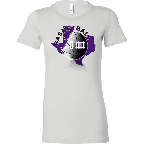 TCU Basketball Defense Women's T-Shirt Slim Fit - 47stories - 1