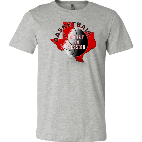 Texas Tech Basketball Court In Session Men's T-Shirt - 47stories - 1