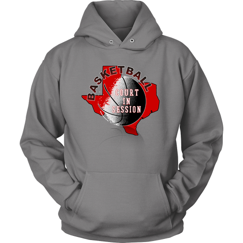 Texas Tech Basketball Court In Session Hoodie - 47stories - 1