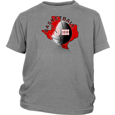 Texas Tech Basketball Defense Youth T-Shirt - 47stories - 1