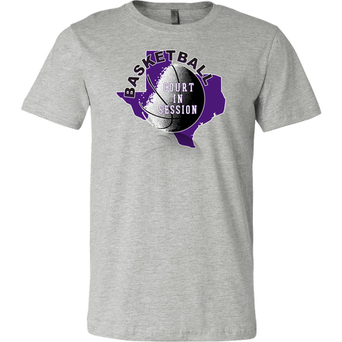 TCU Basketball Court In Session Men's T-Shirt - 47stories - 1