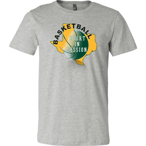 Baylor Basketball Court In Session Men's T-Shirt - 47stories - 1