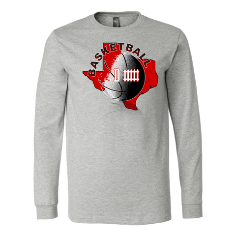 Texas Tech Basketball Defense Men's Long Sleeve Shirt - 47stories - 1