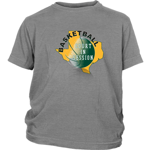 Baylor Basketball Court In Session Youth T-Shirt - 47stories - 1