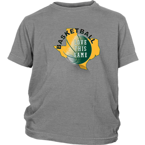 Baylor Basketball Love This Game Youth T-Shirt - 47stories - 1
