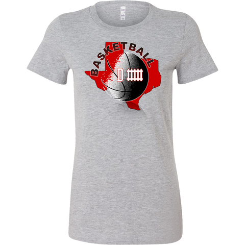 Texas Tech Basketball Defense Women's T-Shirt Slim Fit - 47stories - 1