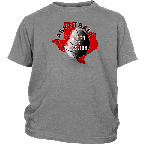 Texas Tech Basketball Court In Session Youth T-Shirt - 47stories - 1