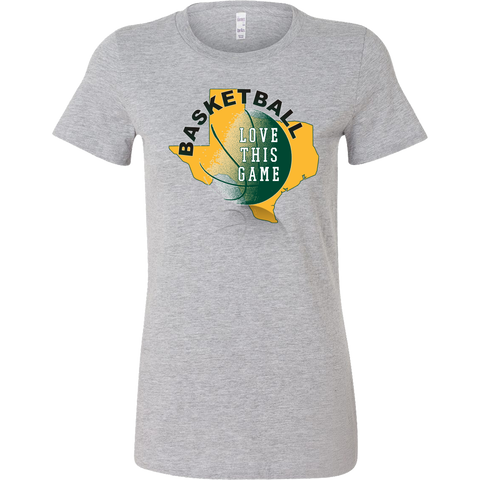 Baylor Basketball Love This Game Women's T-Shirt Slim Fit - 47stories - 1