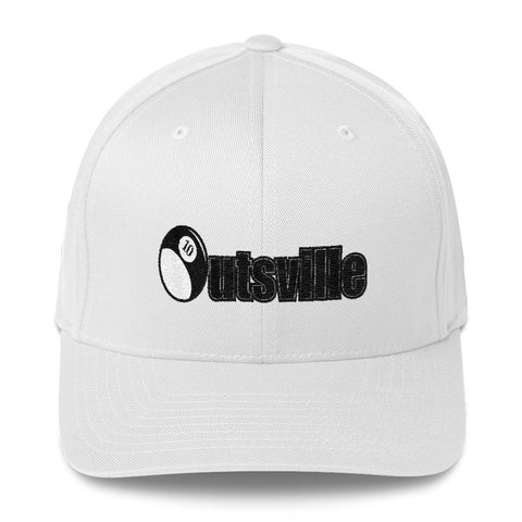 Outsville Black Art Twill Cap