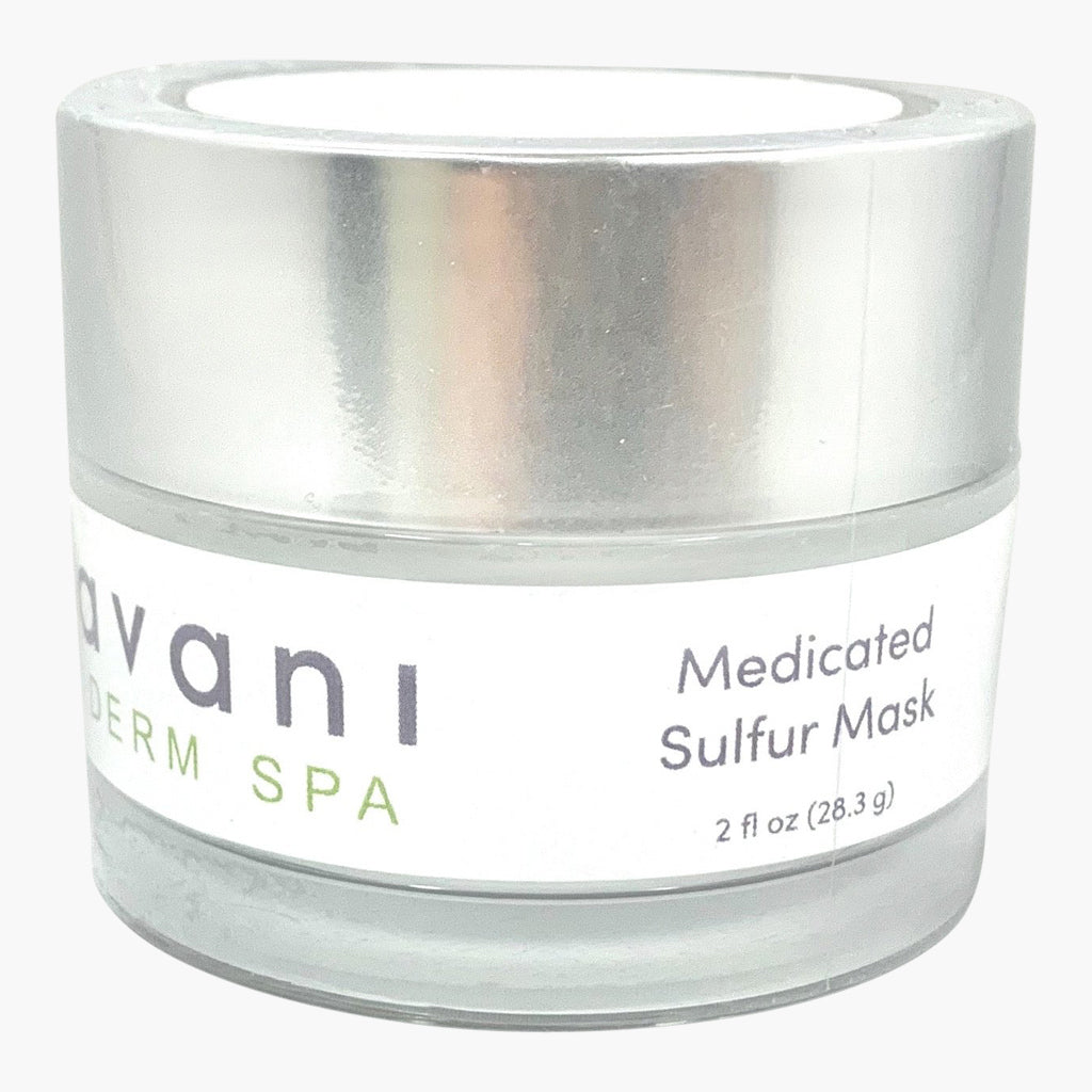 Medicated Sulfur Mask, by Avani Derm Spa