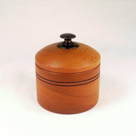 Handmade Wooden Sugar Bowls with Lids