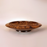 Handmade Wooden Bowls By Picinae Studios, Zebrawood
