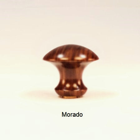 Lamp Shade Finial Bow Pattern 2 Bolivian Rosewood